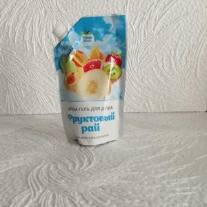 Крем-гель для душа Fresh Fruit (Фреш фрут) – Фруктовый рай, 200мл