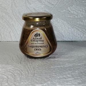Мед таежный Энергетическая смесь, 300гр