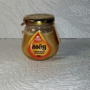 Мед с маточным молочком, 300гр