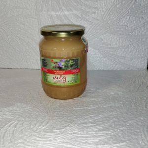 Мед синяковый, 1кг, стекло