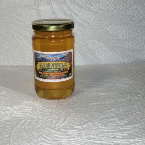 Мед Высокогорный, 0,5кг, стекло