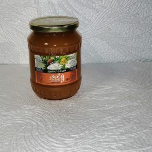Мед дягилевый, 1кг, стекло