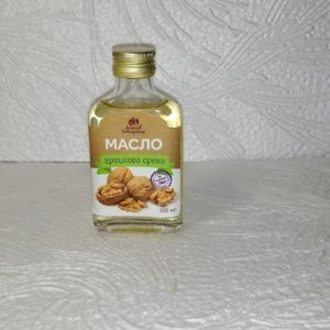 Масло грецкого ореха, 100мл
