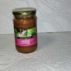 Мед гречишный, 0,5кг, стекло