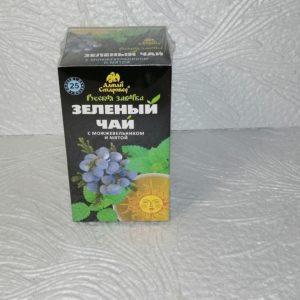 Зеленый чай Русская заварка с можжевельником и мятой, 25 пак.