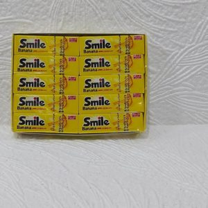 Жвачка Smile (Смайл) – банановая, 18гр – 5 пластинок