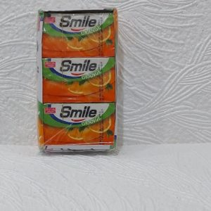 Жвачка Smile (Смайл) – апельсиновая, 17гр – 5 пластинок