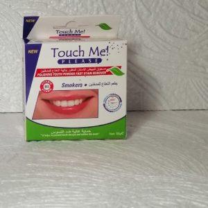 Зубной порошок Touch me! (Тач ми!) – отбеливание, 50гр